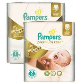 Pampers Premium Care POME box (S1 88+S2 80)