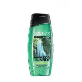 Avon Sprchový gel pro muže na vlasy a tělo Amazon Jungle Senses 250 ml