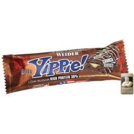 Weider, Yippie! Low Sugar High Protein 36%, 70 g, Brownie-Vanilla