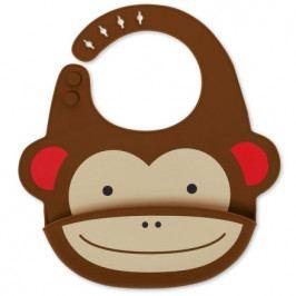 SKIP HOP Zoo Bryndák silikonový Opička