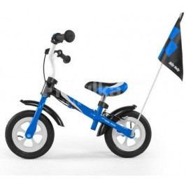 Dětské odrážedlo kolo Milly Mally Dragon deluxe blue