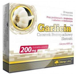 Garlicin, česnekový výtažek, 30 kapslí, Olimp