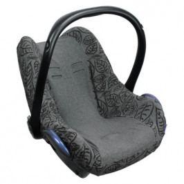 Dooky potah na autosedačku Seat Cover 0+ Grey Leaves