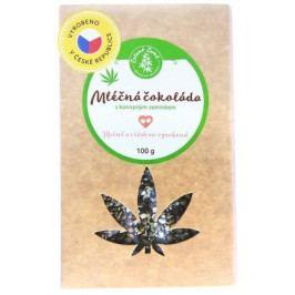 Pekas Handmade s.r.o. Mléčná čokoláda s konopným semínkem 100g