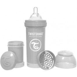 Kojenecká láhev Anti-Colic 260ml (dudl.M) Pastelově šedá