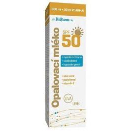 MedPharma Opalovací mléko SPF50 200ml+30ml ZDARMA