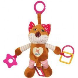 Plyšová hračka s vibrací Baby Mix liška růžová