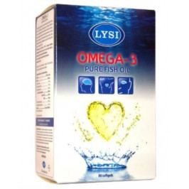 LYSI Omega 3 rybí tuk 80cps.