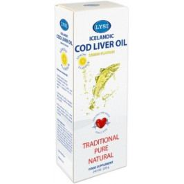 LYSI Cod liver oil lemon 240 ml