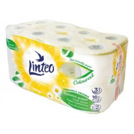 Toaletní papír LINTEO 16 rolí heřmánek 3-vrstvý