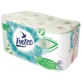 Toaletní papír LINTEO 16 rolí, zelený, 3-vrstvý, 20m