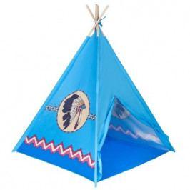 Dětský indiánský stan PlayTo modrý