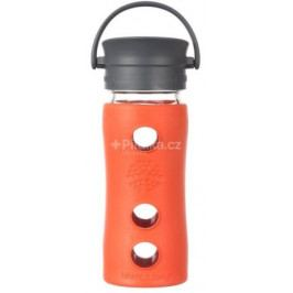Lifefactory hrnek s cafe uzávěrem 350ml Lava