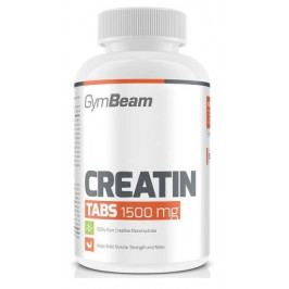 Kreatin TABS 1500 mg - 200tbl - GymBeam unflavored - 200 tab