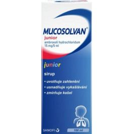 Mucosolvan Junior 3mg/ml sir. 100ml
