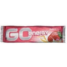 BiotechUSA Go Energy Bar 32x40g Strawberry yoghurt