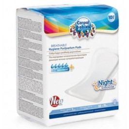 Vysoce absorpční tvarované vložky po porodu noční 10 ks