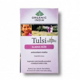 Tulsi sladká růže 18 sáčků Organic India