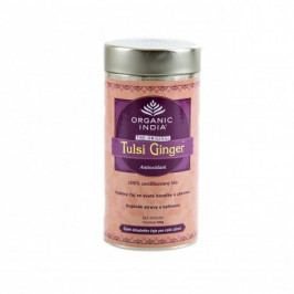 Tulsi Ginger BIO 100 g plech Organic India*