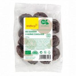 Banány v hořké čokoládě BIO 150 g Wolfberry*
