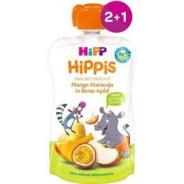 HiPP BIO 100% ovoce Hruš-Jabl-Mango-Marakuja 100g 2+1 ZDARMA