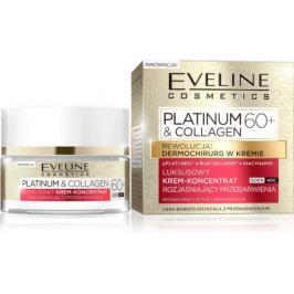 Platinum & Collagen - Zesvětlující denní a noční krémový koncentrát 60+