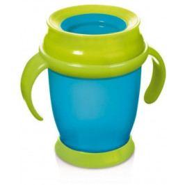 Hrníček LOVI 360 MINI 210ml s úchyty bez BPA tyrkysový