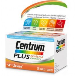 Centrum Plus Ženšen&Ginkgo tbl.30