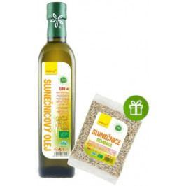 Wolfberry BIO Slunečnicový olej 500 ml + BIO Slunečnicové semínko 100g ZDARMA