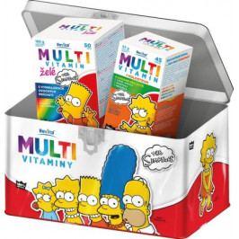 The Simpsons Multivitaminy v plechové dóze