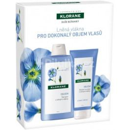 KLORANE XMASS Lin shamp 400ml+baume 200ml