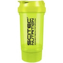 SciTec Nutrition Traveler shaker zelená 500 ml + zásobník