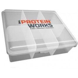 TPW Obědový box transparentní bílá