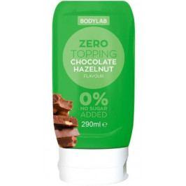 Bodylab Zero Topping Syrup čokoláda/lískový oříšek 290 ml