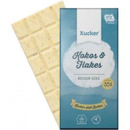 Xucker čokoláda Xukkolade kokos/vločky 100 g