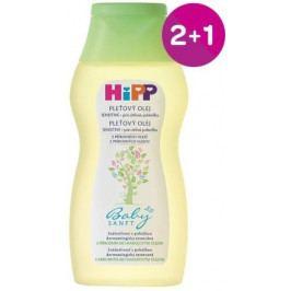 HiPP BABYSANFT Dětský pleťový olej 200ml 2+1 ZDARMA*