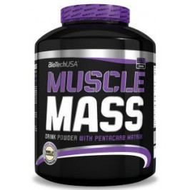 BioTech USA Muscle mass 2270g Vanilka