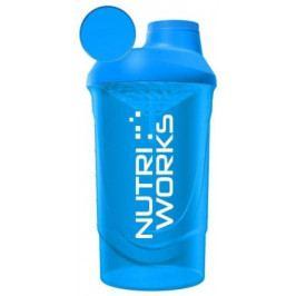 Nutriworks Šejkr 600ml modrý