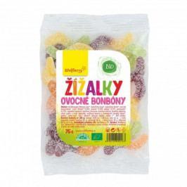 Žížalky Bio ovocné bonbóny 75 g Wolfberry*