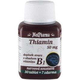MedPharma Thiamin (vitamin B1) 50mg tbl.37