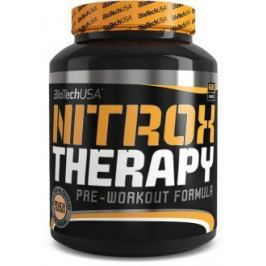 BioTechUSA Nitrox Therapy pre-workout formula 680g červené hrozny
