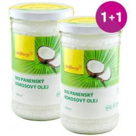 Panenský kokosový olej BIO 1000 ml Wolfberry 1+1 ZDARMA*