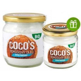 Health Link BIO extra panenský kokosový olej 400ml+200ml ZDARMA
