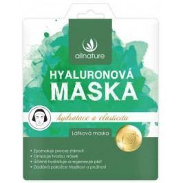 Allnature Maska hyaluronová 23 ml