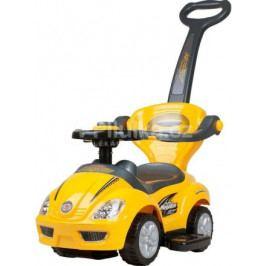 Dětské hrající jezdítko 3v1 Baby Mix yellow
