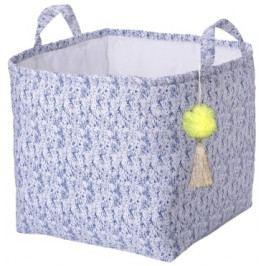 Box na hračky modrý