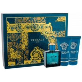 VERSACE EROS SET EdT 50ml + sprchový gel 50ml + balzám po holení 50ml