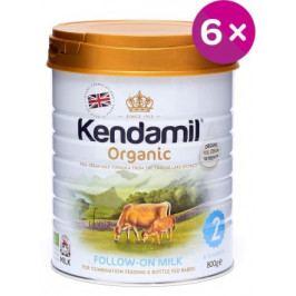 Kendamil Organické kojenecké mléko 2 - 6x800g