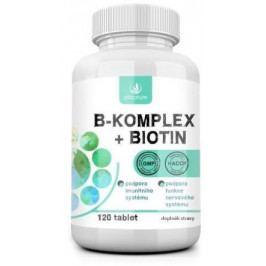 Allnature B-komplex + Biotin 120 tablet
