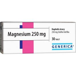 Generica Magnesium 250mg 30 tablet